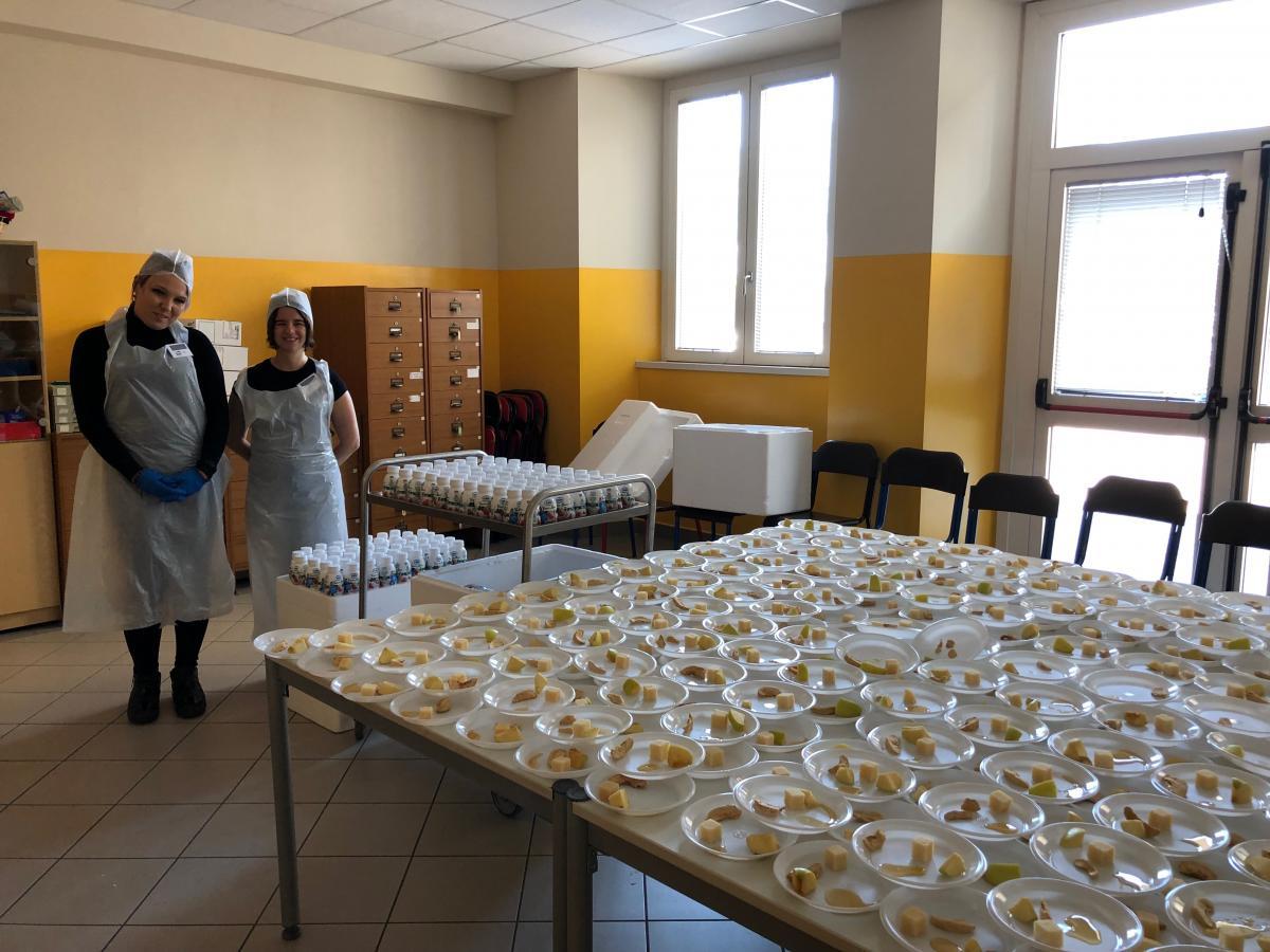 Progetto Latte Nelle Scuole Scuola Primaria Bachelet A S 2018 19 Ics Polo Est